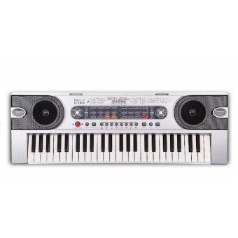 Davis D-4900 Digital Electronic Keyboard (Silver)