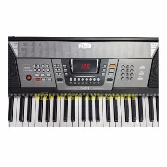 Davis D-818 61-Keys Digital Electronic Keyboard Piano Organ w/stand Package (Black) - 3