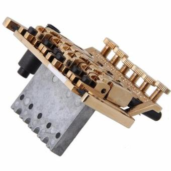 Davis Floyd Rose Lic Tremolo Bridge Double Locking System (Gold) - 3