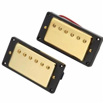 Davis Guitar Humbucker Pickups Set for Electric Guitar Gold