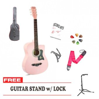 Davis JG-38 Acoustic Guitar Package Series 7 (Pink) Price Philippines