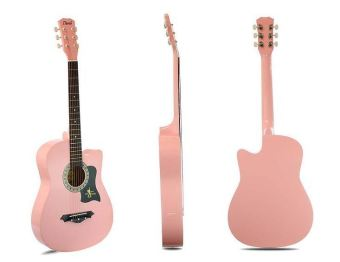 Davis JG-38 Acoustic Guitar (Pink) Price Philippines