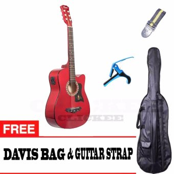Davis JG-38 EQ2 Best Deals Traveller's Packaged (Red)