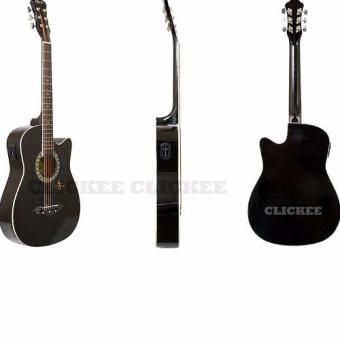 Davis JG-380C EQ2 Acoustic Guitar (Black) Price Philippines