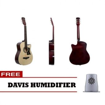 Davis JG-38C Acoustic Guitar (Natural) with FREE Davis Humidifier Price Philippines