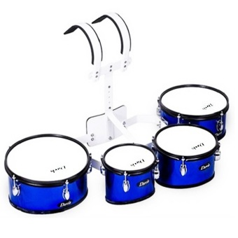 Davis Marching Quad Drums (Blue) Price Philippines