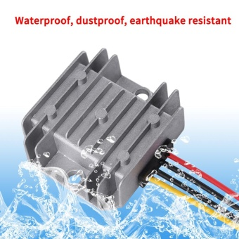 DC-DC 24V To 12V 5A 60W Voltage Step Down Module Buck Power Supply Converter for Car Vehicle - intl