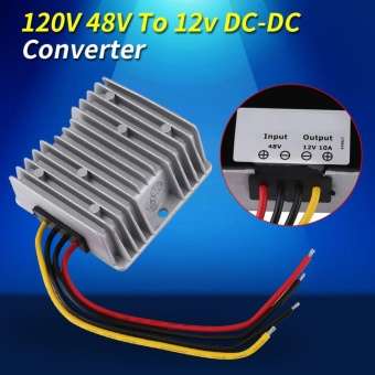 DC-DC 48V To 12V 10A 120W Voltage Step Down Module Buck Power Supply Converter - intl