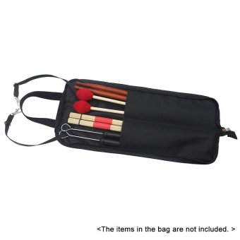 Drum Stick Bag Case Water-resistant 600D with Carrying Strap forDrumsticks Outdoorfree - intl