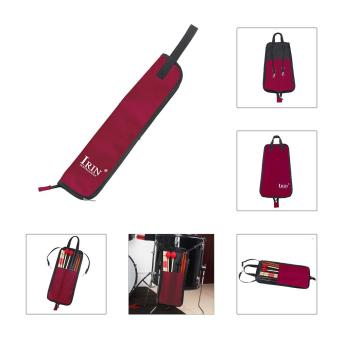 Drum Stick Bag Case Water-resistant 600D with Carrying Strap forDrumsticks Red Outdoorfree - intl