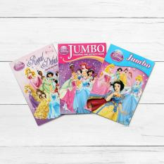 Easy To Learn Books Disney Princess 3 Piece Coloring Book Set