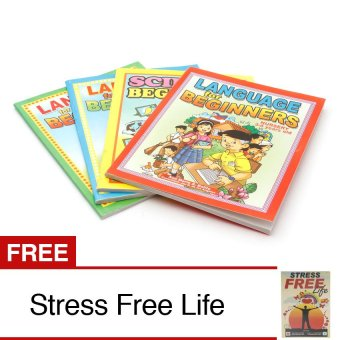 Educational Book Set of 4 Bundled with Stress Free Life Book