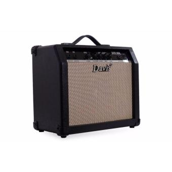 electric guitar amplifier with overdrive effects