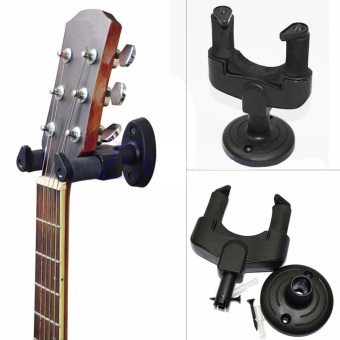 Electric Guitar Wall Hanger Holder Stand Rack Hook Mount for All Guitar - intl