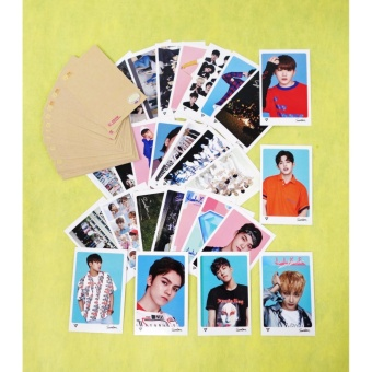 [FAN GOODS] SEVENTEEN - MINI POSTCARD PHOTOCARD SET 56pcs - intl - 2