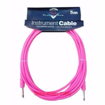 Fender 5 Meters Fender Cable for Piano & Guitars (PINK)