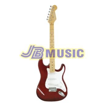 Fernando AST-330S Strato Electric Guitar (Metal Red) Price Philippines