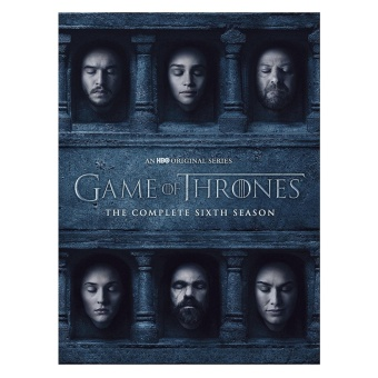 Game of Thrones Season 6 Original Complete DVD set