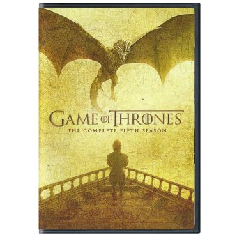 Game of Thrones: The Complete 5th Season - 5 Discs DVD