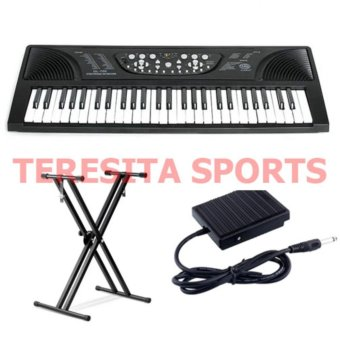 Global GL-700 Electronic Keyboard Piano with Sustain Pedal andDouble X Stand