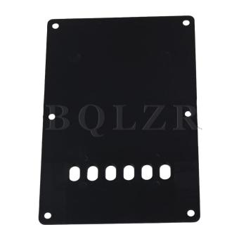 Guitar Back Plate Cavity Cover For Guitar Black - picture 2