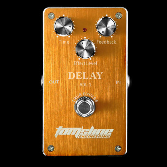 Guitar Effect Pedal Aroma ADL-1 Delay Electric Guitar Effect Pedal Aluminum Alloy Housing True (Intl)