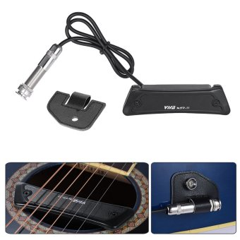 High Quality Passive Magnetic Soundhole Pickup Pick-up Single Coilfor Folk Guitar - intl