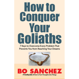 How to Conquer Your Goliaths (7 Keys to Overcome Every Problem thatPrevents You from Reaching Your Dream) by Bo Sanchez Price Philippines