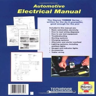 Harga Automotive Electrical Manual (Haynes Techbook)