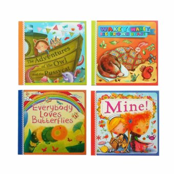 Harga 4-pc. Story Books for Children