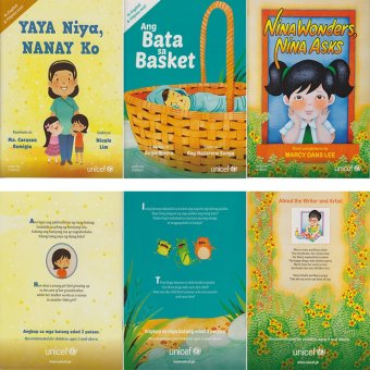 Harga UNICEF Children's Story Books (B) Bundle of 3