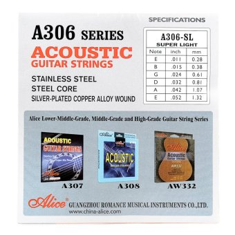 Alice Guitar String (Silver) Price Philippines