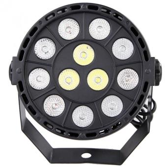 Harga 12 LED RGBW 4IN1 DMX 8CH Beam Stage Par Lighting