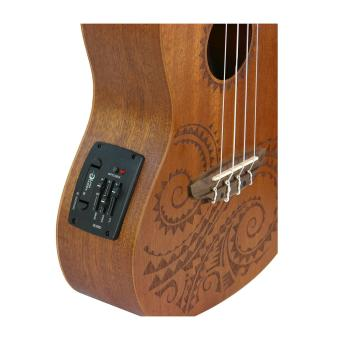 Harga Luna Mahogany Series Tattoo Concert Acoustic-Electric Ukulele