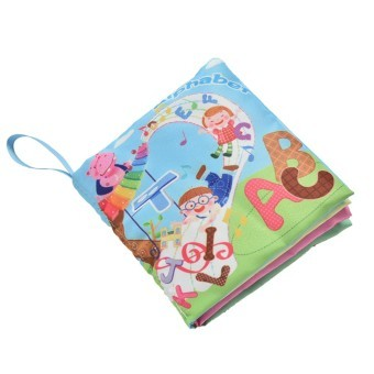 Harga Fabric Books Educational Cloth Book Preschool Training Cartoon Baby Toy Alphabet