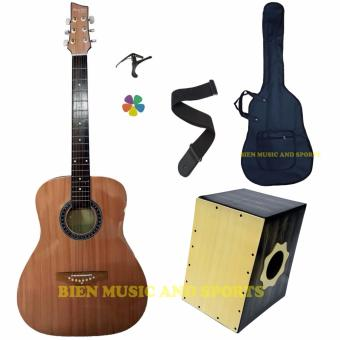 Mactan jamming acoustic set (wood and black) Price Philippines