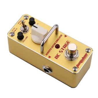AROMA AAS-3 AC Stage Acoustic Guitar Simulator Mini Single Electric Guitar Effect Pedal with True Bypass Price Philippines