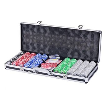 Harga Poker Set 500 piece Set (Black)