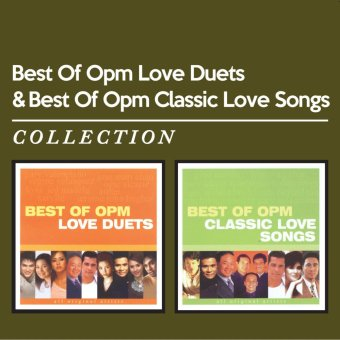 Harga BEST OF OPM LOVE DUETS & CLASSIC LOVE SONGS COLLECTION