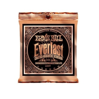 Harga Ernie Ball 2548 Everlast Phosphor Light Acoustic Guitar Strings