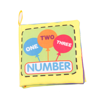 Colorful Baby Kids Cloth Cognize Book- Number Price Philippines
