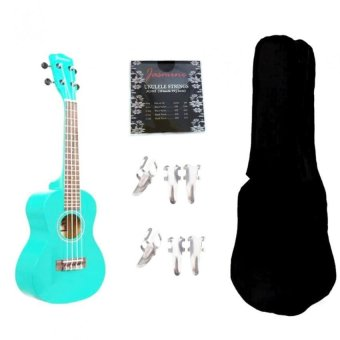 Harga Jasmine Concert Packaged Colored Ukulele Ukelele (Blue)