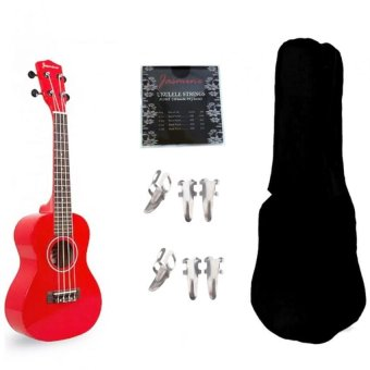 Jasmine Concert Packaged Colored Ukulele Ukelele (Red) Price Philippines