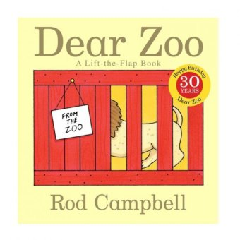 Harga Educational Animal Recognizing Intelligence Development DEAR ZOO Story Book for kids