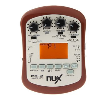 NUX PA-2 Acoustic Guitar Effect Multifunctional Portable Guitar Parts Accessories 18 Types of Preset Two Tuning Modes Price Philippines