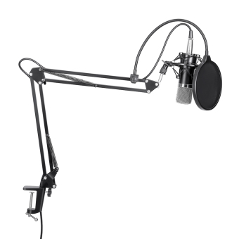 Neewer NW-700 MICROPHONE KIT+B-3 MICROPHONE WIND SCREEN FILTER SHIED+NB-35 STAND Price Philippines