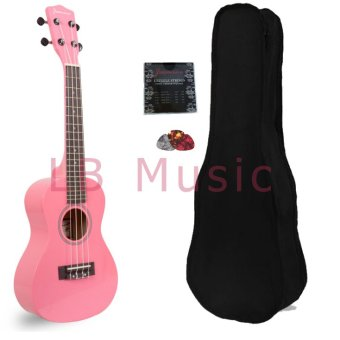 Jasmine Concert Colored Ukulele Ukelele (Pink) Price Philippines