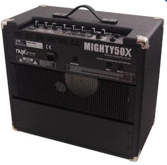 Harga NUX Mighty50X 50W Guitar Amplifier (Black)