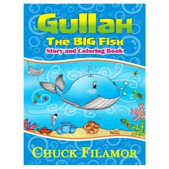 Harga Gullah The Big Fish Story and Coloring Book (White)