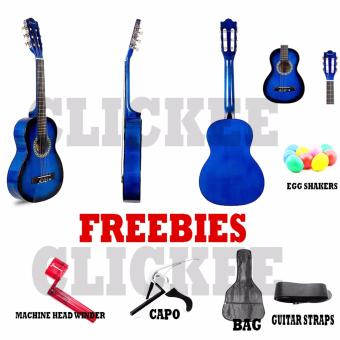 Jasmine JE30N Acoustic Guitar Cupids Bundle (Blue) Price Philippines